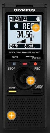 Dictaphone Olympus VN-733PC