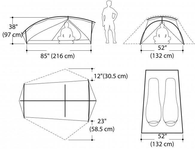 Avis sur la tente Marmot Nitro 2P