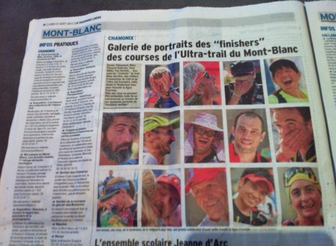 Ultra traileur du Nord dans le Dauphiné Libéré