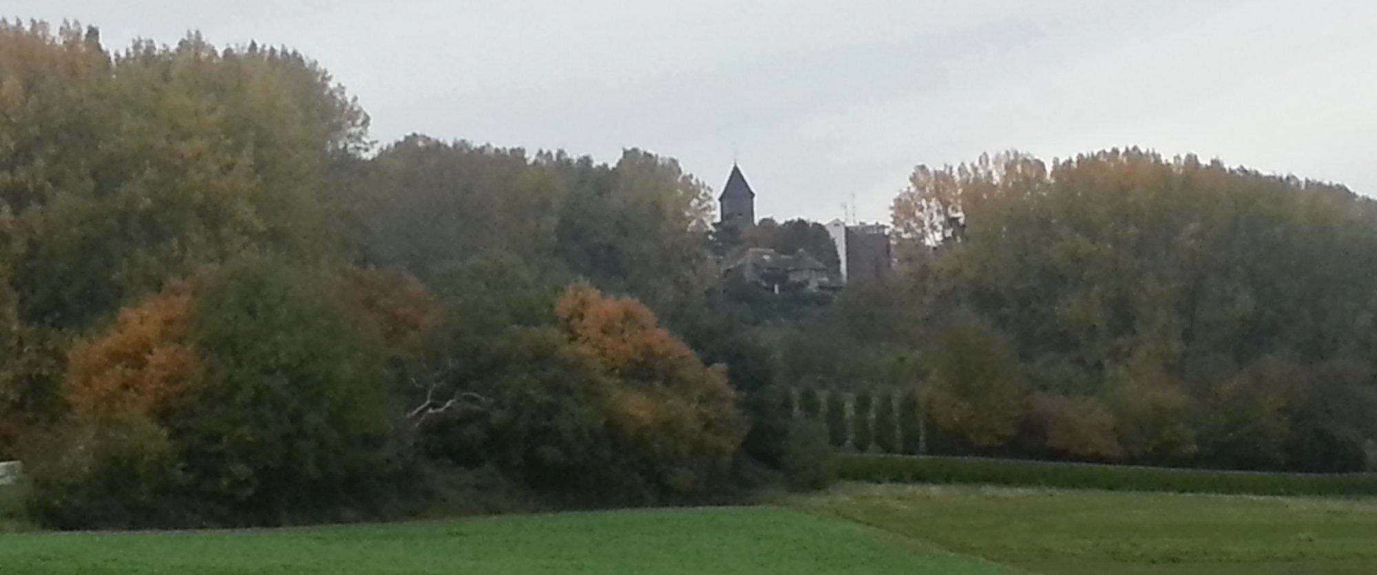 Mons Saint Aubert en autommne