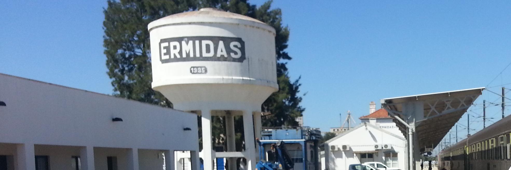 La gare de Ermidas Sado