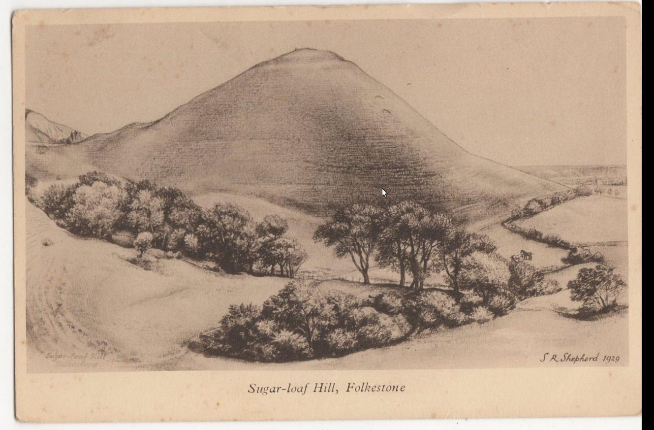Sugar-loaf Hill à Folkestone en 1929