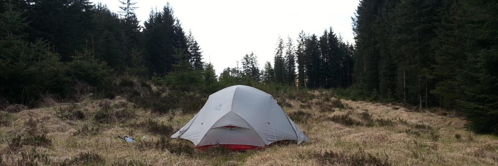 La West Highland Way en camping