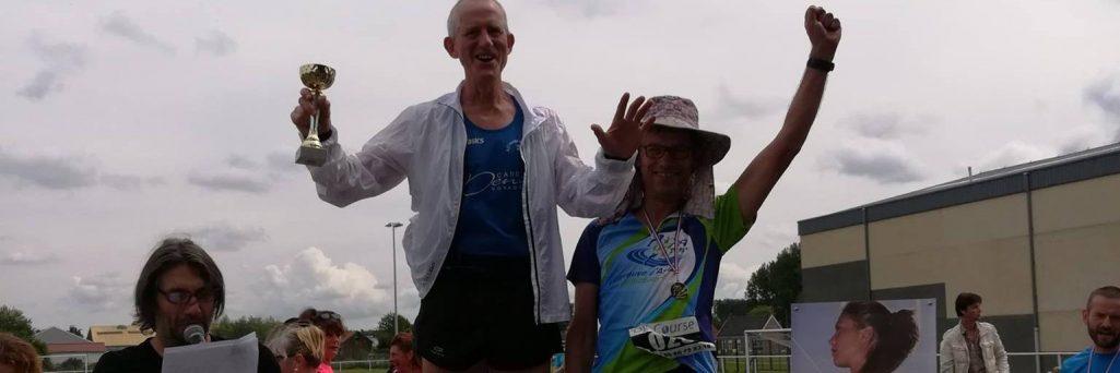 [CR] Trail de la Fraise 40 kilomètres - podium !