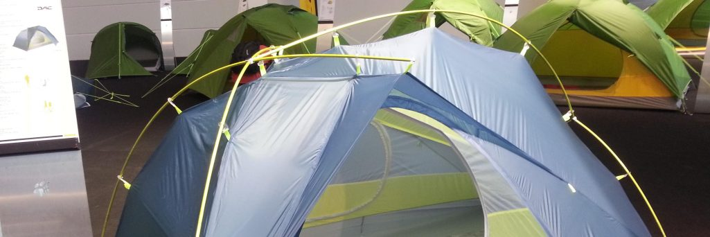 Tentes ultra légères du salon Outdoor 2017 à Friedrichshafen