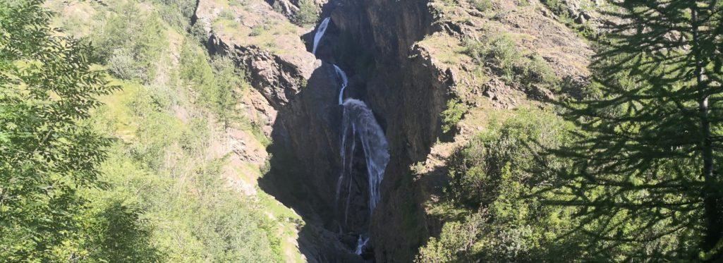 Cascade vers Dormillouse
